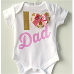 Fathers Day Baby Onesie