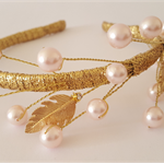ARTEMIS Gold and Pink Crown