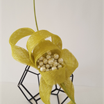 Green ( Lime) Fascinator