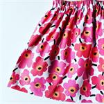 Pink Floral Spring Skirt size 1,2,3,4,5