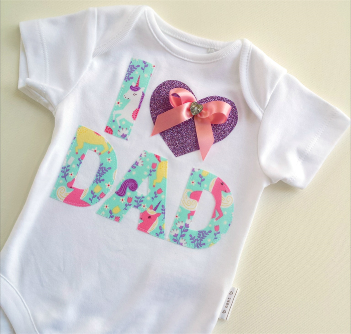 Fathers Day Gift Baby Outfit. All Onesie Sizes Available ...