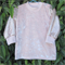 Pink Velour TOP cotton lined soft sequins long sleeves Girl 6-12 months