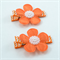 Flower Hair Clip Pair