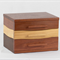 Expandable Jewellery Box made from solid Jarrah, Blackbutt, and Victorian Ash.