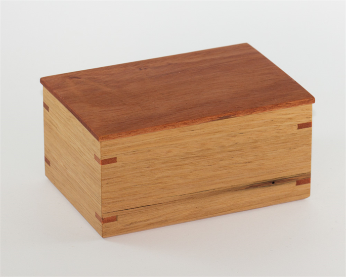 Decorative Wooden Boxes Australia : Small wood box handmade from australian timbers the