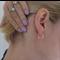 Tiny Gold Hoop Earrings, Sleepers, Oval Earrings, Gold Hoops