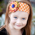 Funky Flower Headband Pattern. PDF Sewing Pattern and Tutorial, Make and Sell