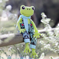 Frog Pattern. Fergus the Frog Softie PDF Sewing Pattern