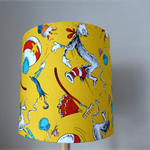 The Cat In The Hat Lamp Shade   Dr Seuss   Yellow