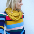 "The Red Essy Loop Scarf ""Keen as Mustard"""