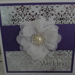 Wedding Card - Purple Glamour