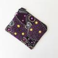 Aboriginal Dancing Spirit purple coin purse