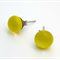 Lemongrass Fused Glass Mini Stud Earrings
