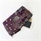 Aboriginal Dancing Spirit purple print makeup bag (small)