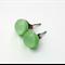 Mint Green Fused Glass Mini Stud Earrings
