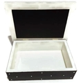 Midnight Sparkle Keepsake Trinket Treasure Jewellery Bridal Memory Wooden Box