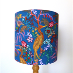 Floral Lampshade | Blue Lamp Shade | Handmade in Australia