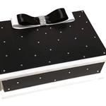 Midnight Sparkle Keepsake Trinket Treasure Jewellery Bridal Memory Wooden Box
