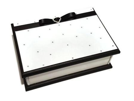 Glamour in White Keepsake Box