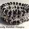 Stretchy Bead and Chain Bracelet