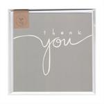 THANK YOU (GREY) - MINI CARD