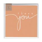 THANK YOU (ORANGE) - MINI CARD