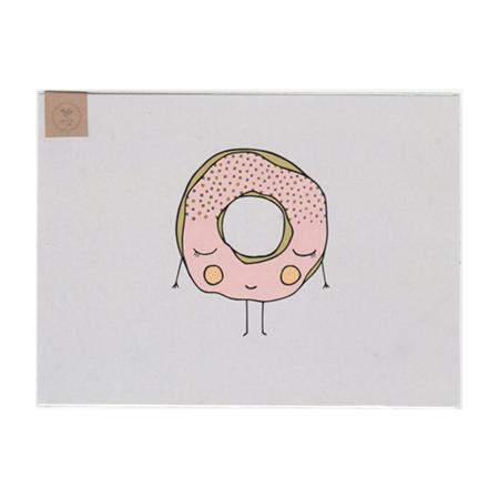 Sweet Wishes Donut (Art Print)