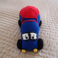 Trevor the water truck ( car ) - hand crocheted by CuddleCorner, OOK