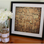 Scrabble Wall Art - Personalised Gift Wedding, Engagement Father's Day