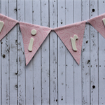 GIRL Cake Topper Bunting Garland Baby Shower  Party Decorations Mum-to-Be