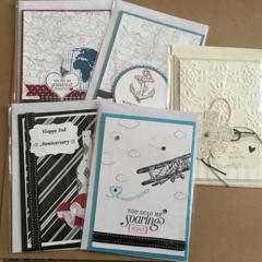 Mix Birthday / Anniversary Handmade Card - private listing