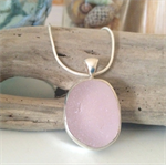 Purple Sea Glass Pendant
