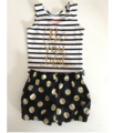 High Waisted Bloomers and Stripy Chesty with Print . Beautiful