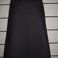 Black Skirt with Marimekko Flowers & Bamboo Stretch Waist