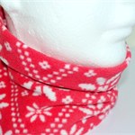 Neck warmer: double-layered light-weight polar fleece