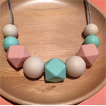 Silicone Sensory Baby (former teething / chew) Necklace for Mum Jewellery Gift