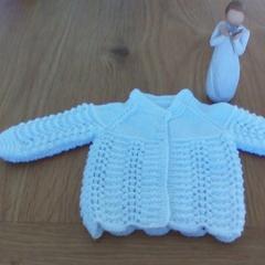 Baby Jacket to fit preemie or newborn.