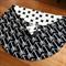 Large Sensory Fabric Block - Monochrome