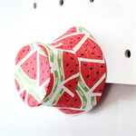 Watermelon & red and white spot girls Bucket Hat