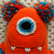Monster, READY TO POST, Crochet Toy, Boy Gift