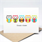 Thank You Card - 5 Bright Owls - Thank Whoo - THY026