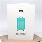 Bon Voyage Card - Suitcase - BON014