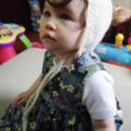 Little Bonnet - Hand Knitted - Size 1 - 100% Australian Wool