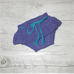 Hand Knitted Adorable Bloomers in 100% Wool - 0 to 3 months