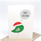 Christmas Card - Christmas Birdie with Speech Bubble - XMS032
