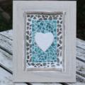 Beach Themed & Rustic framed mosaic decor