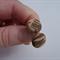 Tiger print stud earrings, polymer clay stud earrings, marble studs,FREE postage