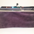 Purple dream large clutch purse