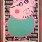 Hand Made Fathers Day Card Daddy Pig