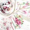 Vintage Bunting - Country Garden Floral Flags. High Tea Garden Party